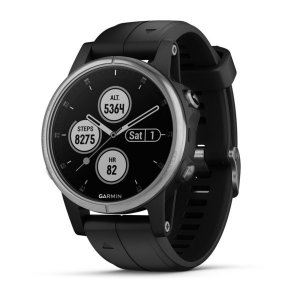 smartwatch Garmin Fenix 5s Plus Black/Silver 010-01987-21