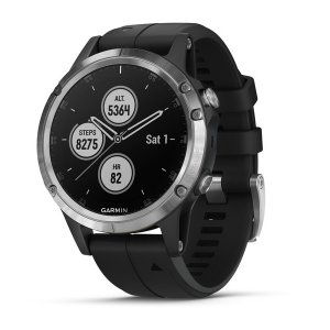 smartwatch Garmin Fenix 5 Plus Black/Silver 010-01988-11