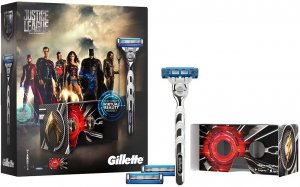 golarka Gillette Mach 3 Turbo Justice League