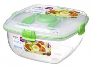 lunchbox Sistema Chill It To Go Zielony