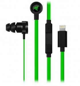 słuchawki Razer Hammerhead Lighting for iPhone, iPad, iPod