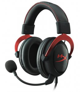 słuchawki Kingston HyperX Cloud II Black/Red
