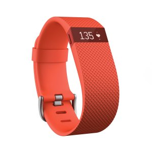 smartband FitBit Charge HR L Tangerine