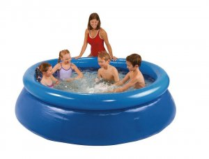 basen rozporowy Tesco 8ft Quick Up Paddling Pool 244 x 66cm