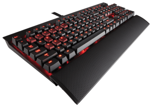 klawiatura Corsair K70 Cherry MX Red Red LED mechaniczna