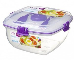 lunchbox Sistema Chill It To Go Filoetowy