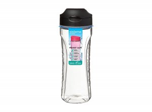 bidon Sistema Tritan 600ml Black