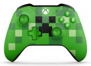 gamepad XBOX One S Minecraft Creeper WL3-00057