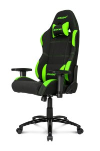 fotel AKRacing Gaming Chair Black/Green AK-K7012-BG