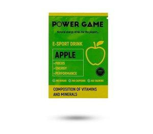 saszetka PowerGame E-Sport Drink Apple