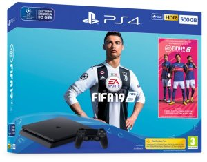 konsola SONY PlayStation 4 500GB + FIFA 19