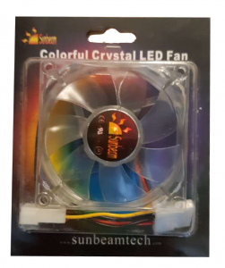 wentylator Sunbeam 80mm Colorful Crystal Green