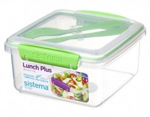 lunchbox Sistema Lunch Plus Zielony