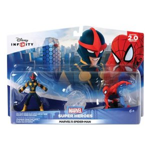 Disney Marvel Infinity 2.0 Spiderman Playset - Spiderman i Nova