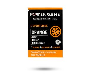 saszetka PowerGame E-Sport Drink Orange