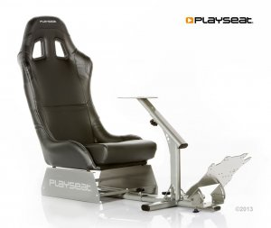Playseat Evolution Black fotel ze stojakiem