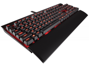 klawiatura Corsair K70 Rapidfire MX Speed Red LED mechaniczna
