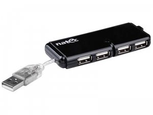 hub USB Natec Caterpilar 4port 2.0