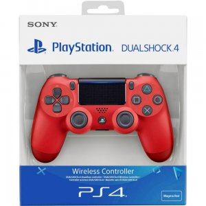 gamepad Sony PlayStation 4 DualShock V2 Wireless Red